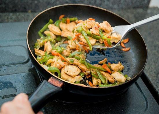 cocinar comida real