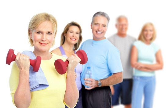 ejercicios contra la flacidez de la piel a la tercera edad