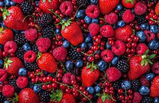 frutos rojos keto