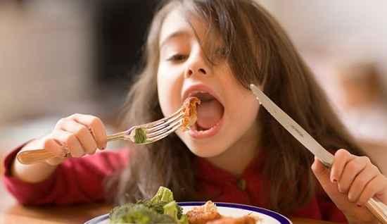 menus nutritivos para niños
